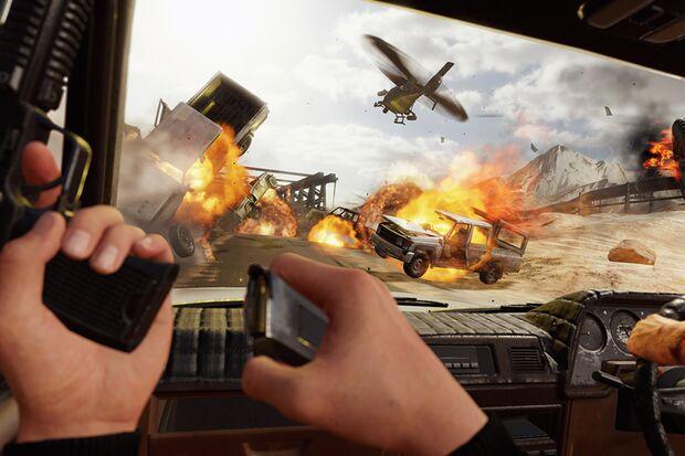 """""""Blood & Truth"""" von Sony Interactive Entertainment"""
