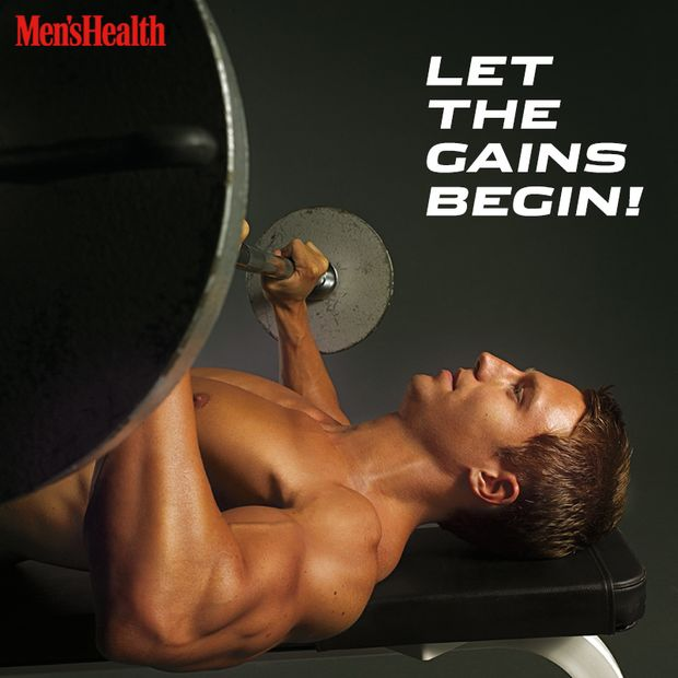 """Let the gains begin!"""