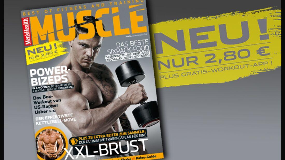 """Men's Health Muscle"" kommt"