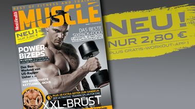 """Men's Health Muscle"" kommt"