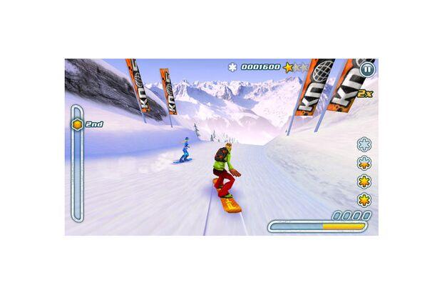 """""""Snowboard Hero"""" fürs iPhone"""