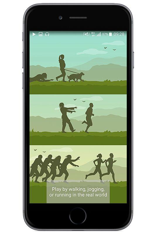 """Zombies, Run!"": Kombination aus Fitness-Tracker und Gaming"