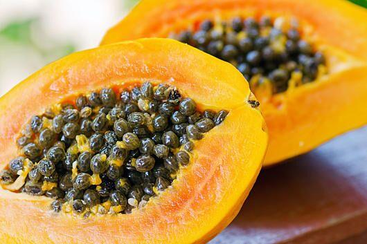 100 Gramm Papaya liefern 82 Milligramm Vitamin C