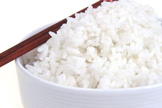 100 Gramm gekochter Reis hat nur 106 Kilokalorien