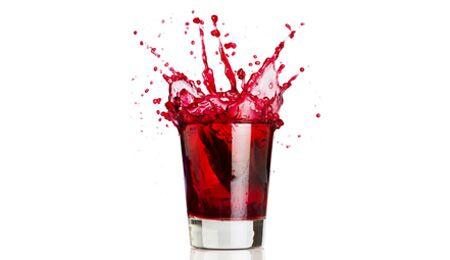 100 Milliliter roter Traubensaft kann bis zu 0,1 Millgramm Resveratrol enthalten