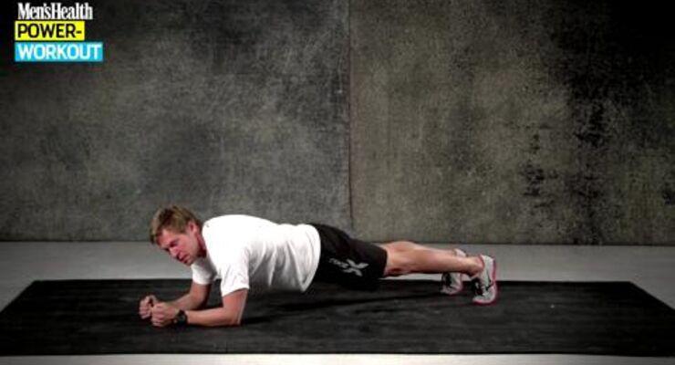 13 verschiedene Übung gepaart aus Belastung und Entlastung bietet das perfekte Training, um dem fiesen Rückenschmerz entgegen zu wirken. Dabei trainieren Sie zusätzlich noch alle Muskeln, die im Alltag zu kurz kommen und den Rücken unterstützen.