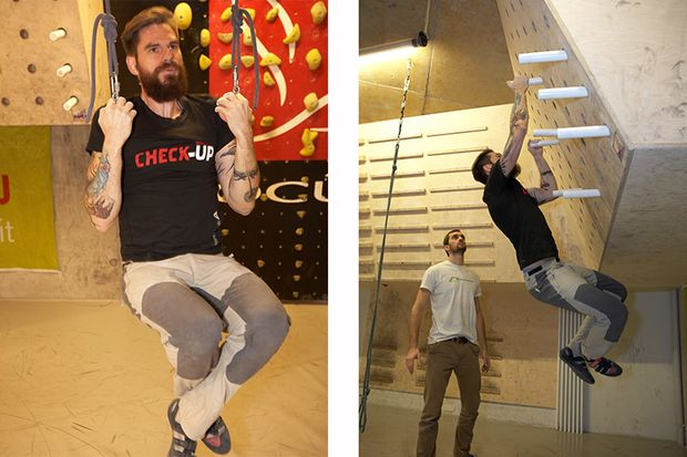 2 Top-Übungen fürs Kletter-Training
