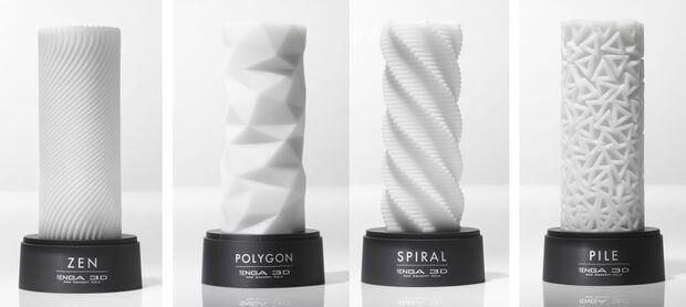3D Spiral Masturbator von Tenga