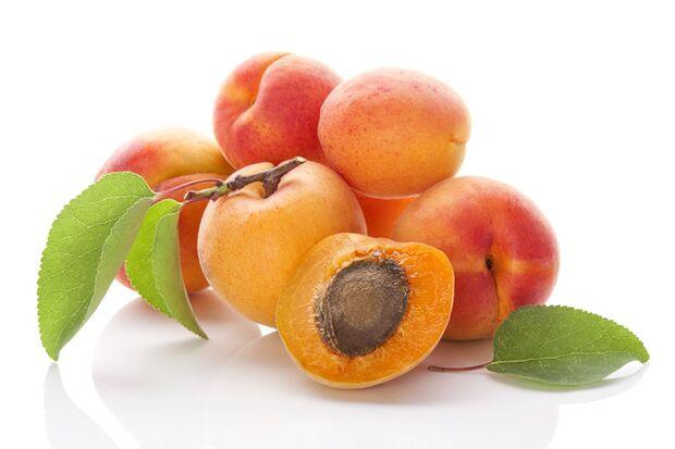 42 Kalorien pro 100 Gramm Aprikose