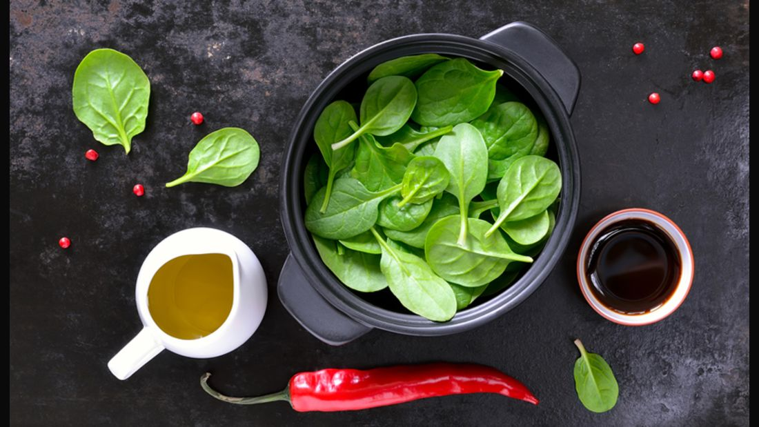 50 geniale Spinat-Rezepte