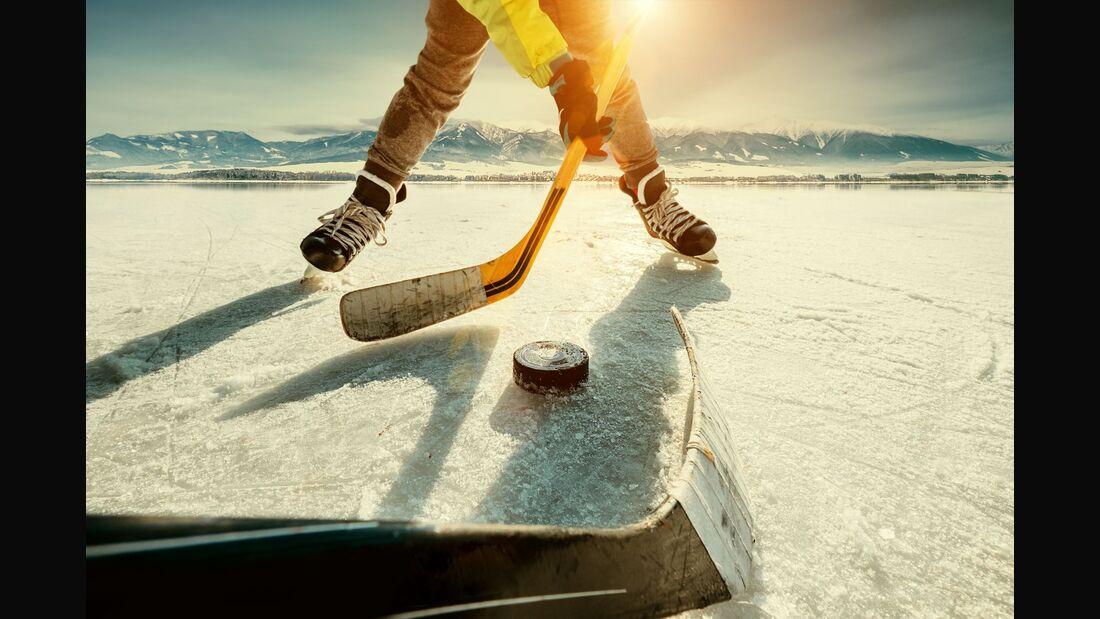8 Übungen für ein Eishockey-Workout