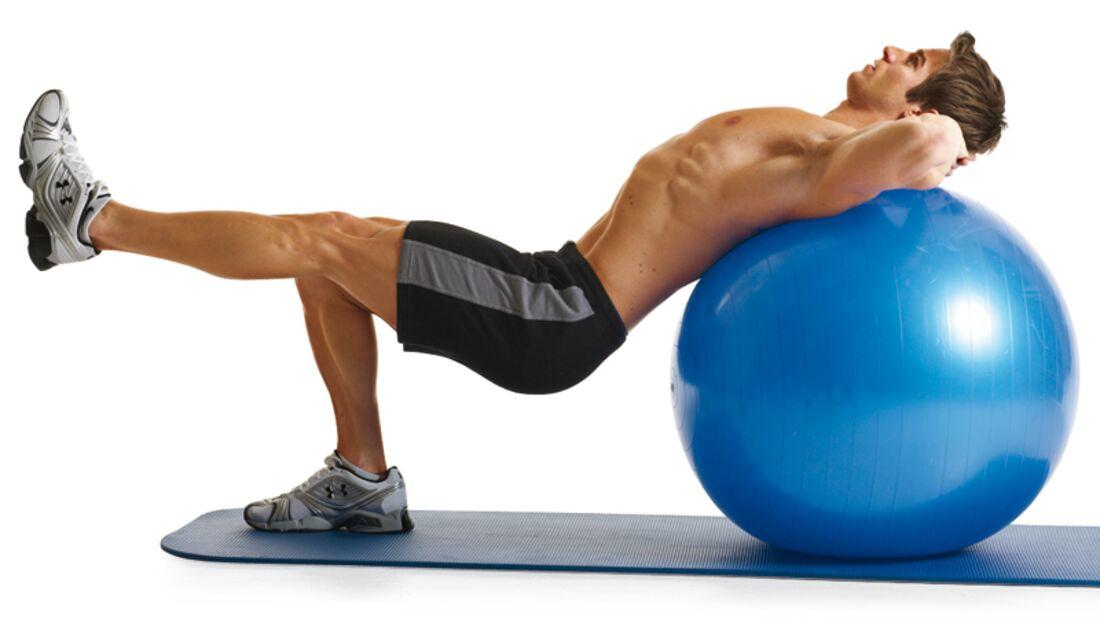 8 Übungen für einen Knackpo