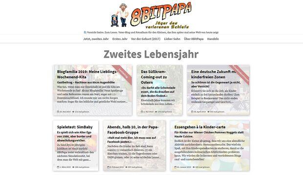 8bitpapa.de: Vorsicht Papa-Satire