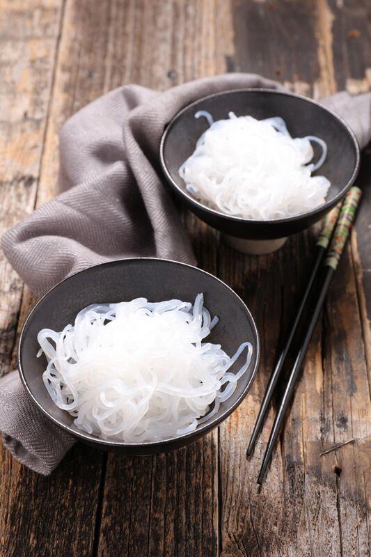 Abnehmen mit Shirataki-Pasta
