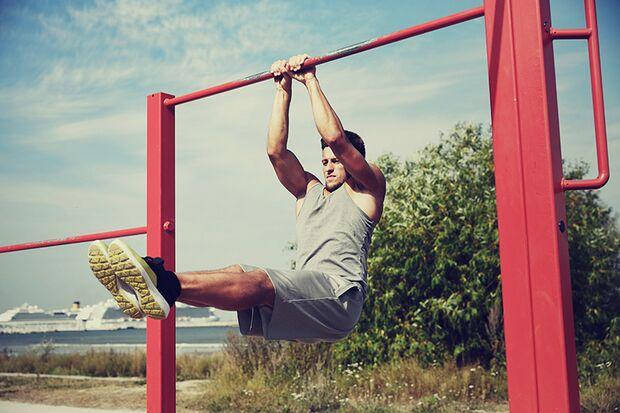 Abwechslung ist alles beim Outdoor-Fitness-Training