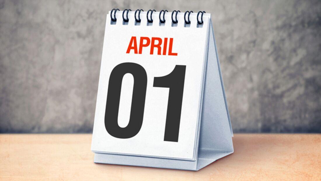 Achtung, bald ist wieder 1. April