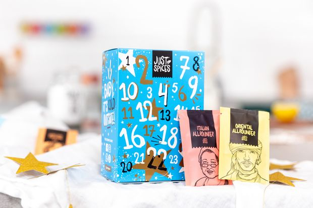 Adventskalender von Just Spices, rund 100 Euro.