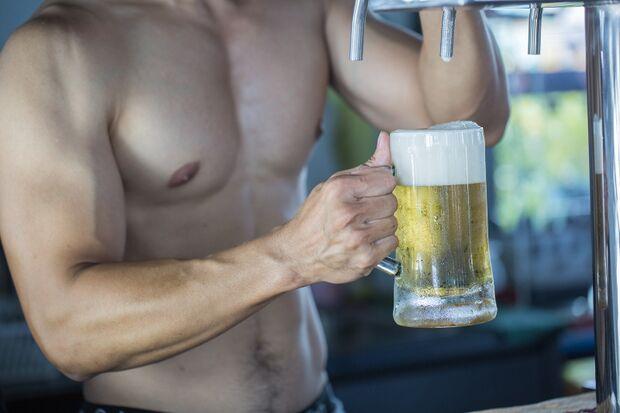 Alkohol sabotiert den Trainingserfolg