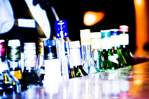 Alkohol schwächt den Willen