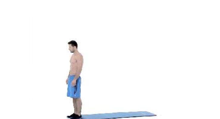 Alles geben, so lautet das Motto beim Tabata-Training. Dieses Workout verbrennt in nur 16 Minuten pro Tag Ihre restlichen Fettreserven. Deck-Jumps als Profi-Übung trainieren die Beine.