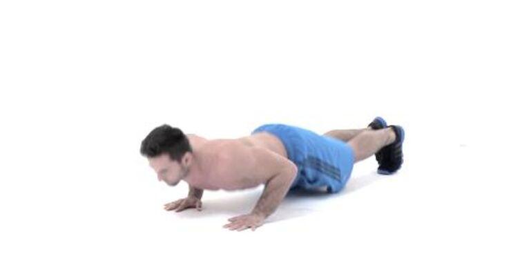 Alles geben, so lautet das Motto beim Tabata-Training. Dieses Workout verbrennt in nur 16 Minuten pro Tag Ihre restlichen Fettreserven. Der Alligatorwalk als Feinschliff-Übung sollte einmal pro Woche gemacht werden.