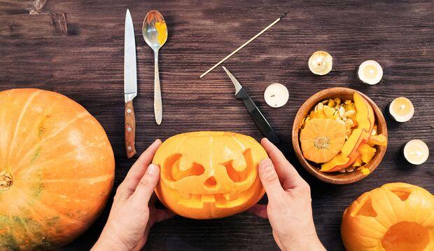 Am 31.10. ist Halloween