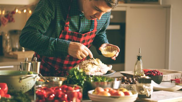 An Weihnachten wird oft fettig gegessen