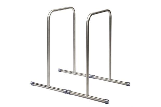 An diesen Edestahl-Barren formen Sie auch Arme aus Stahl
