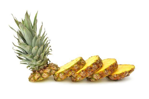 Ananas gehört zur gesunden Ernährung dazu