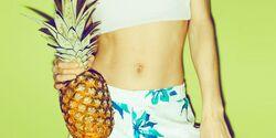 Ananas lässt Sperma fruchtig süß schmecken