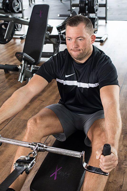 Andreas beim Training