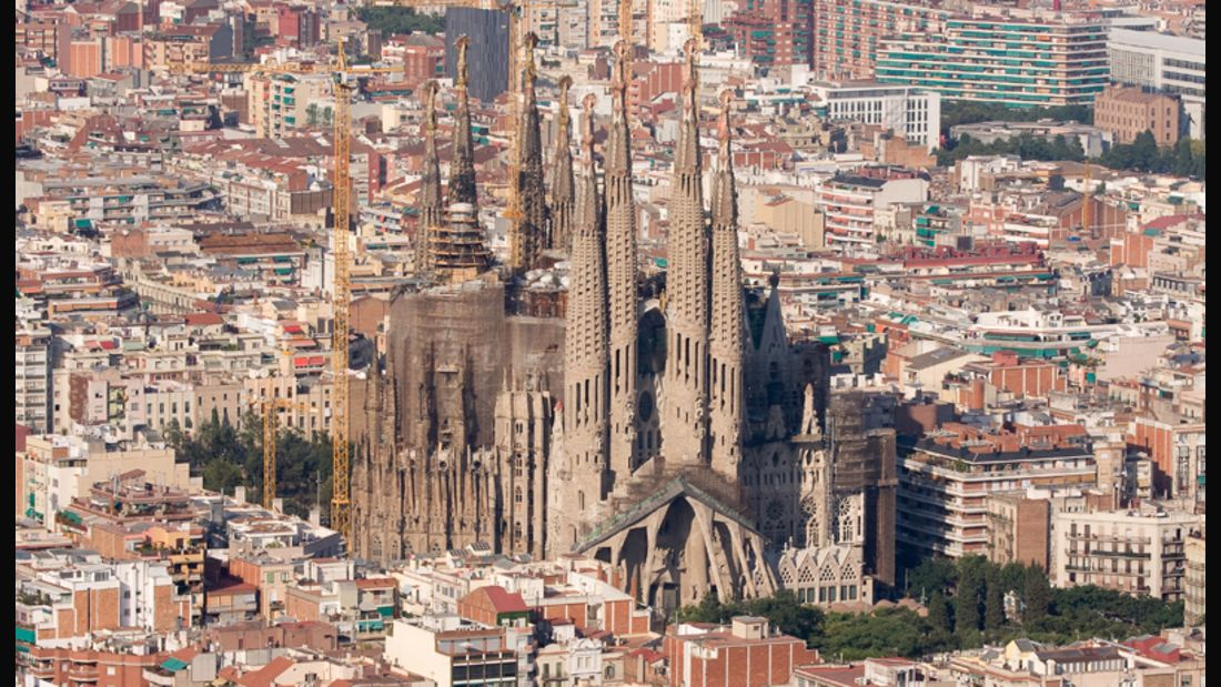 Antonio Gaudis Meisterwerk: Die Sagrada Familia