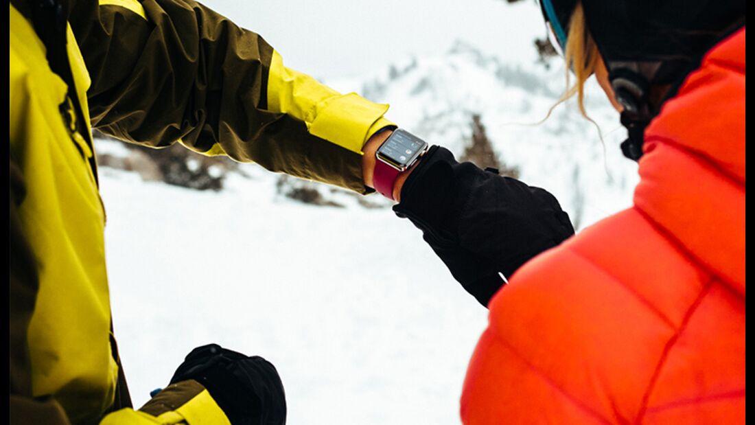 Apple Smartwatch kann jetzt auch Snowboarden oder Skifahren tracken.