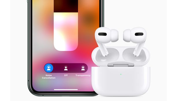 Apple hat den AirPods Pro Active Noise Cancelling (ANC) spendiert