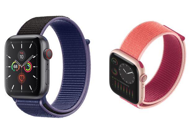 Apples Smartwatch in der 5. Generation