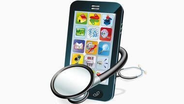 Apps  können Ihre Gesundheit checken