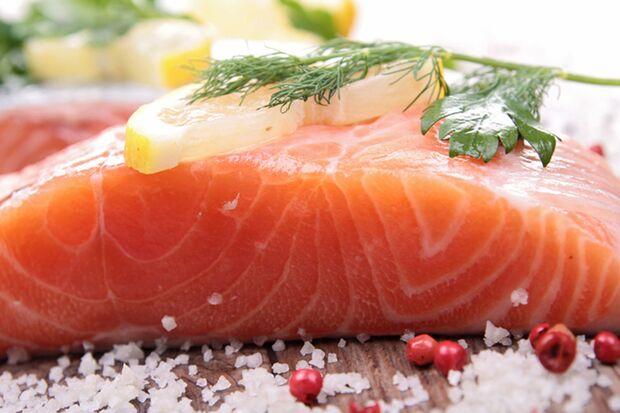 Argininreiche Lebensmittel: Lachs