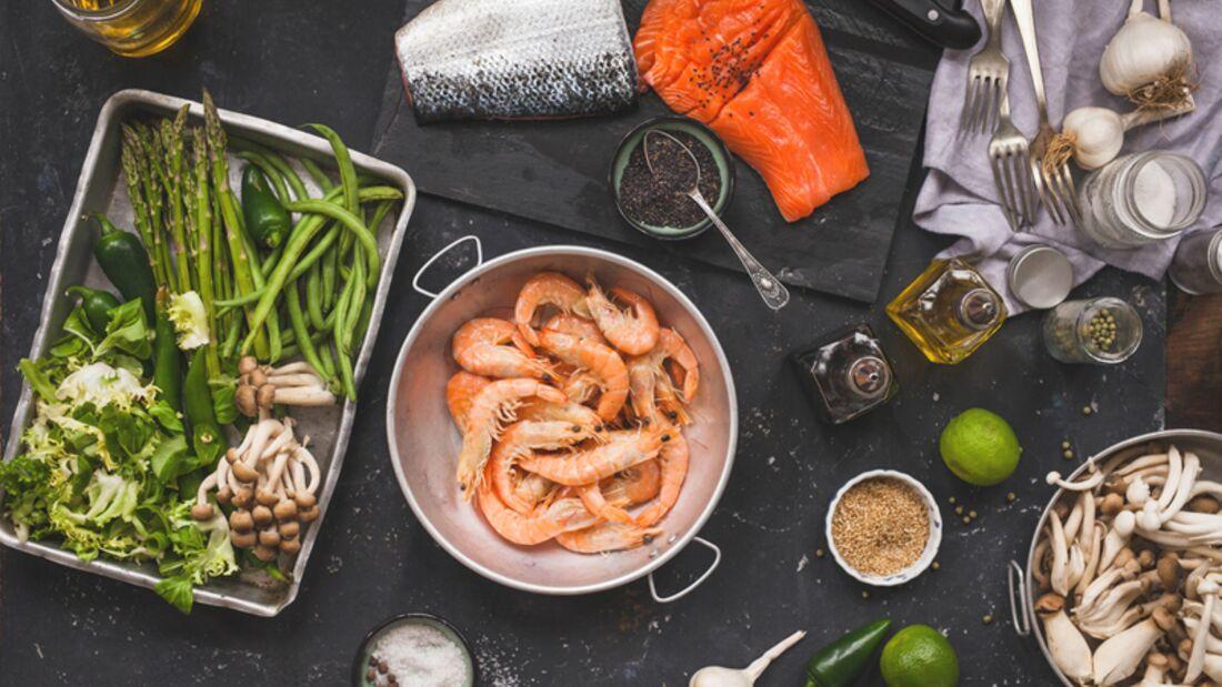 Asiastische Rezepte gehen schnell und sind gesund