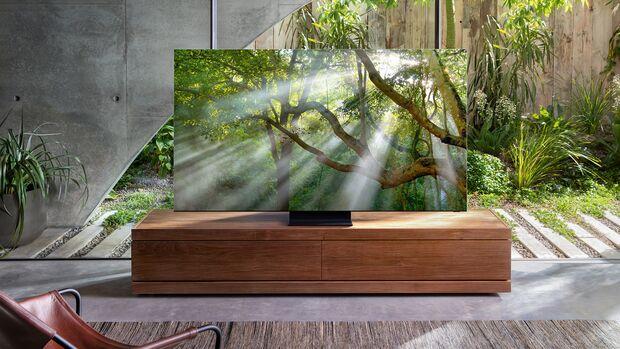 Atemberaubende Bildqualität: der QLED 8K Q950T von Samsung