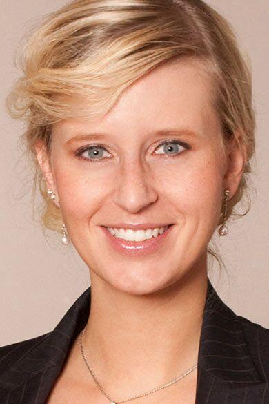 Attraktive Bundestagsabgeordnete: Katrin Albsteiger von der Jungen Union Bayern