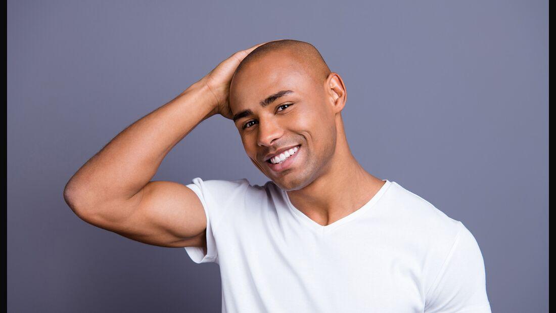 Auch Glatzen brauchen Pflege