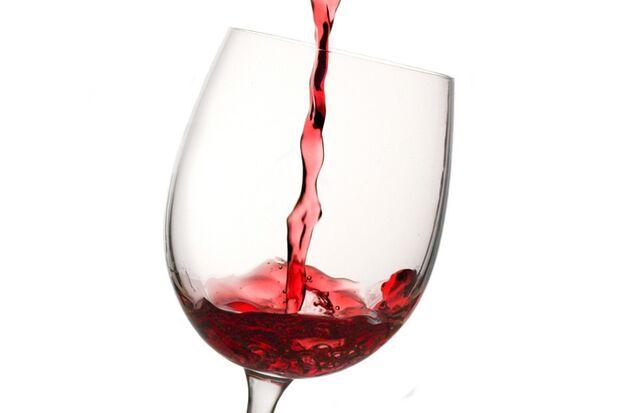 Auch Rotwein zählt zur gesunden Ernährung