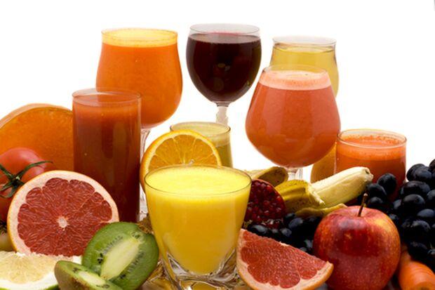 Auch Säfte sind wichtig für eine gesunde Ernährung