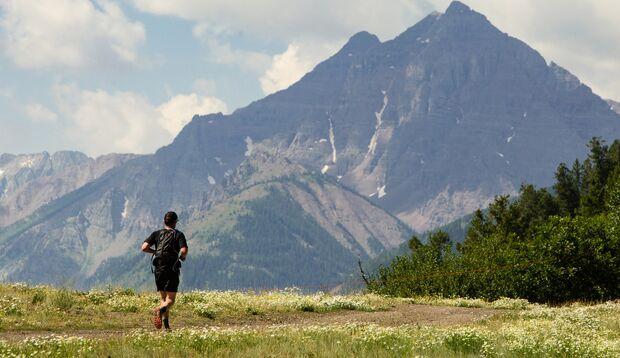 Auch für Trailrunner und Hiker sind die Rocky Mountains um Aspen ein Top-Ziel