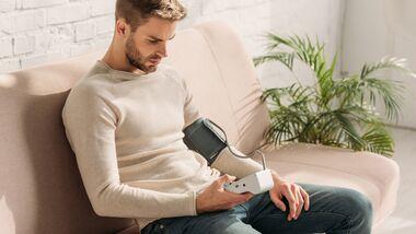 Auch junge Männer können Bluthochdruck entwickeln