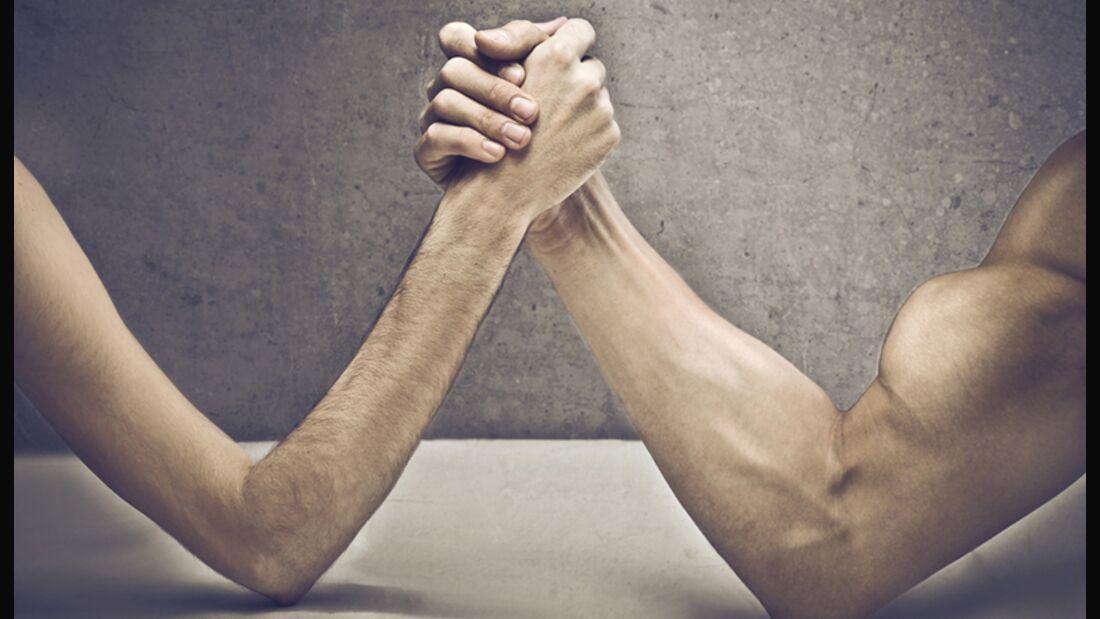 Aus dünn wird dick - Muskelarme als Ziel
