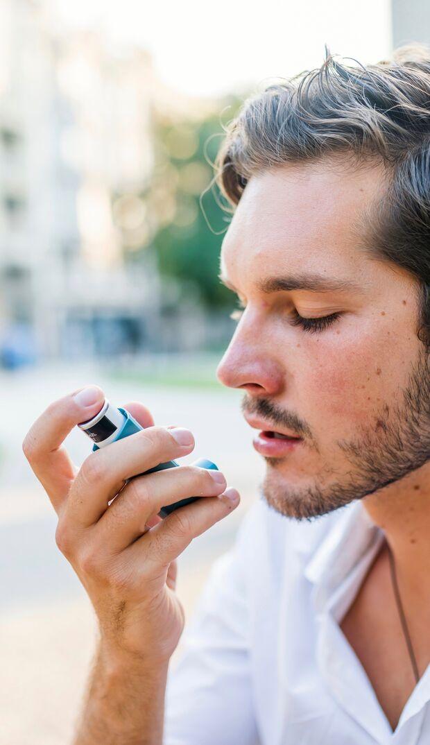 Aus einer Pollenallergie kann sich ein allergisches Asthma entwickeln