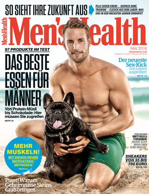 Ausgabe Men's Health 05/2016