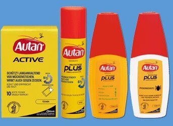 Autan Produkte verwenden den Wirkstoff Icaridin