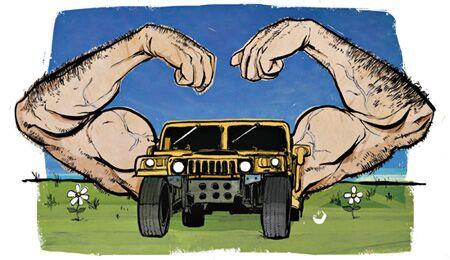 Autos machen Männer zu Kraftmeiern und Rüpeln